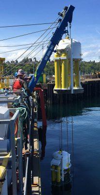 Thruster Installation ops American Marine Corp