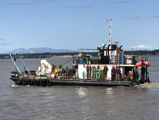 Commercial Dive Boat