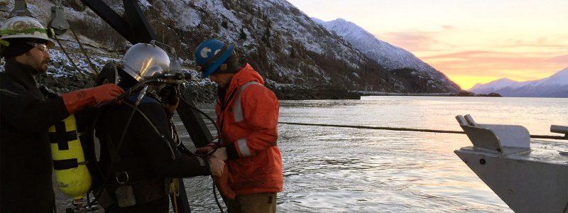 Arctic Commercial Diving Alaska