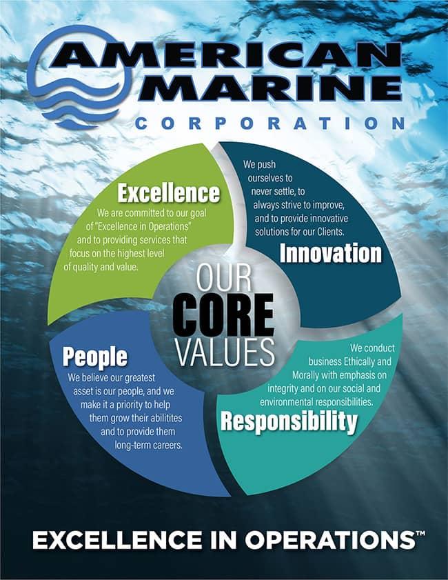 american marine corporation core values